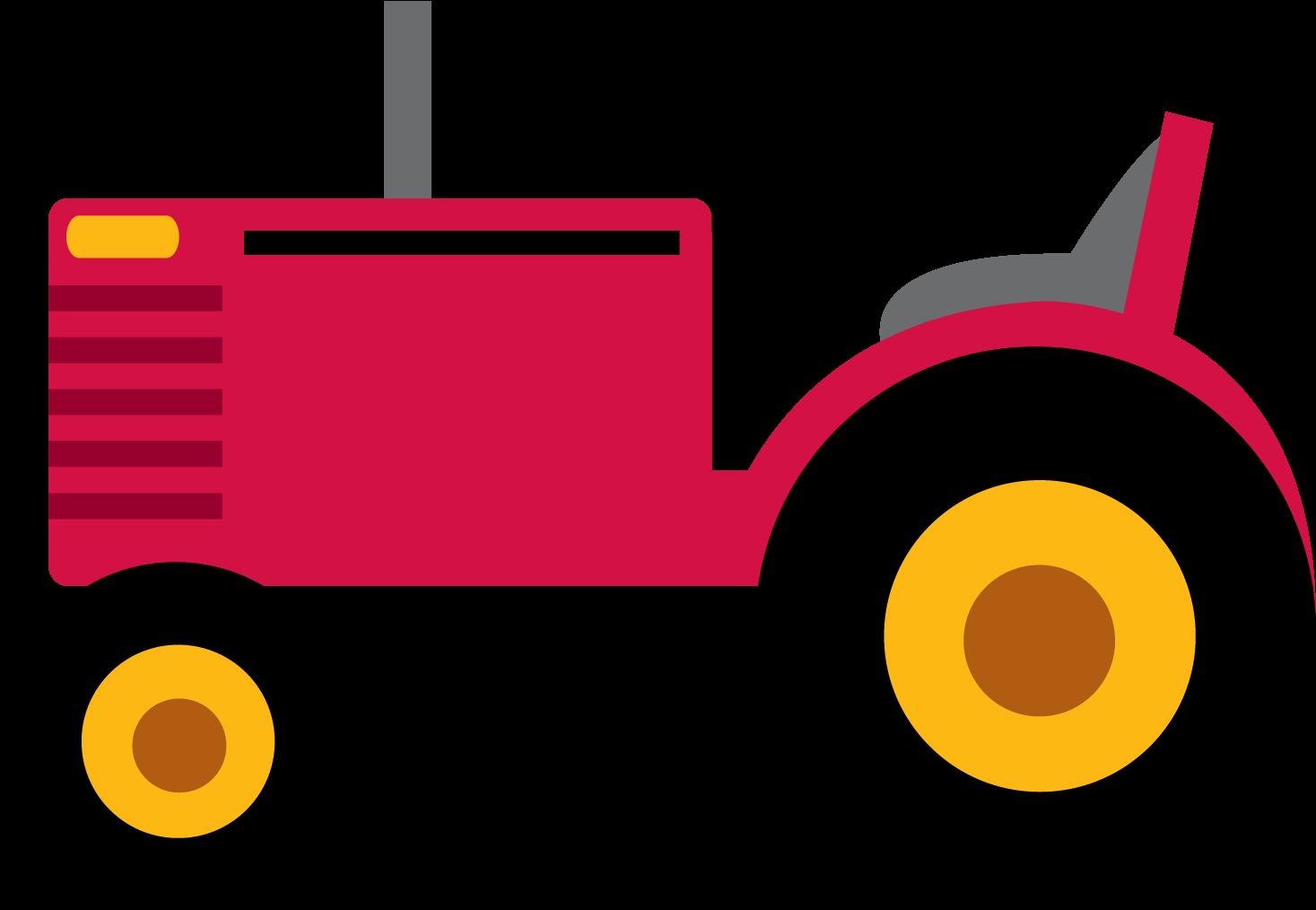 Transparent tractor clip art - Photo By @daniellemoraesfalcao - Clipart Tractor Png