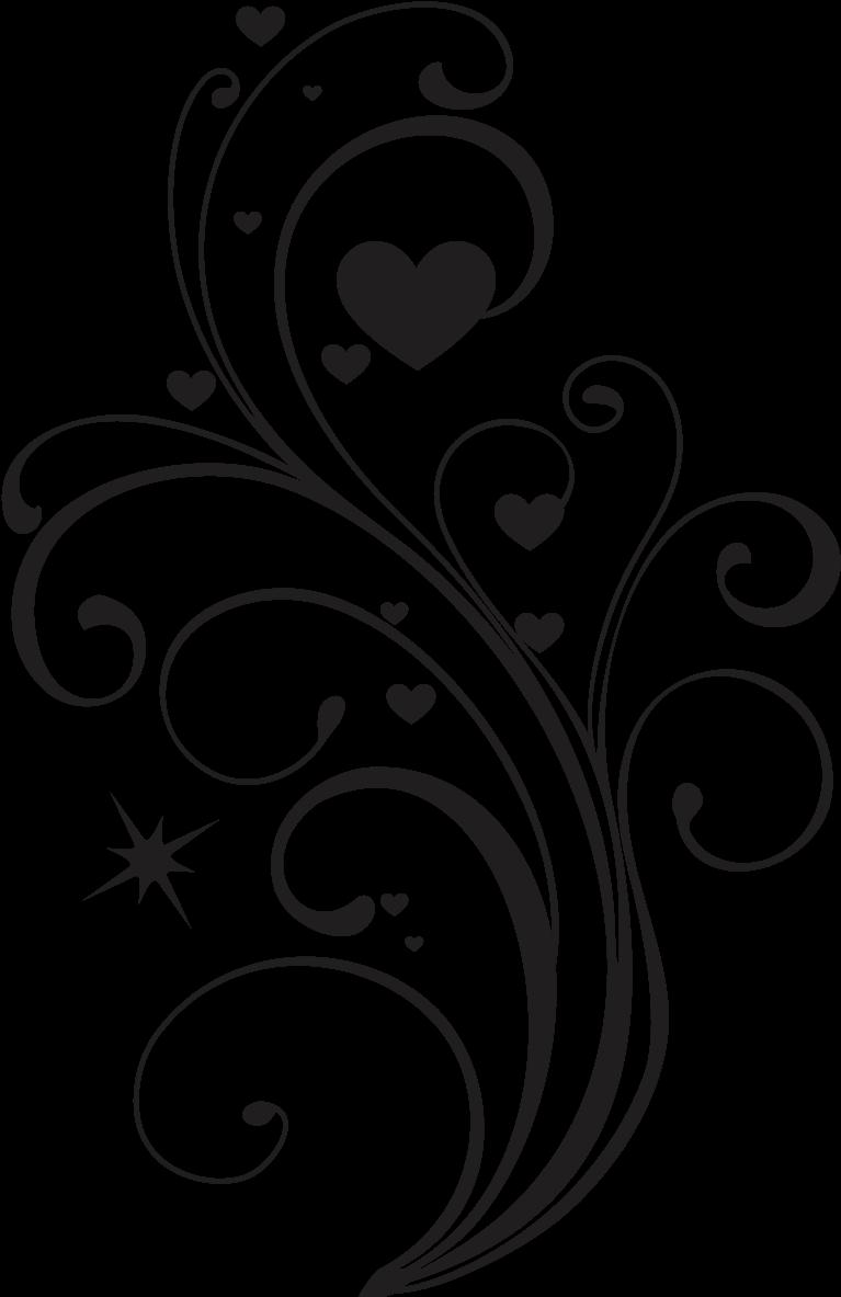 Transparent elegant heart clipart - #swirls #swirl #decorations #decoration #decor #elegant - Heart Design Drawing