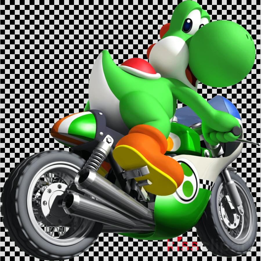 Download Yoshi Mario Kart Wii Clipart Mario Kart Wii Mario