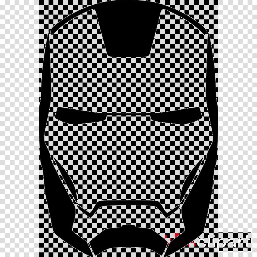 Transparent iron man logo clipart - Iron Man Silhouette Clipart Iron Man Stencil Hulk , - Transparent Captain America Mask Png