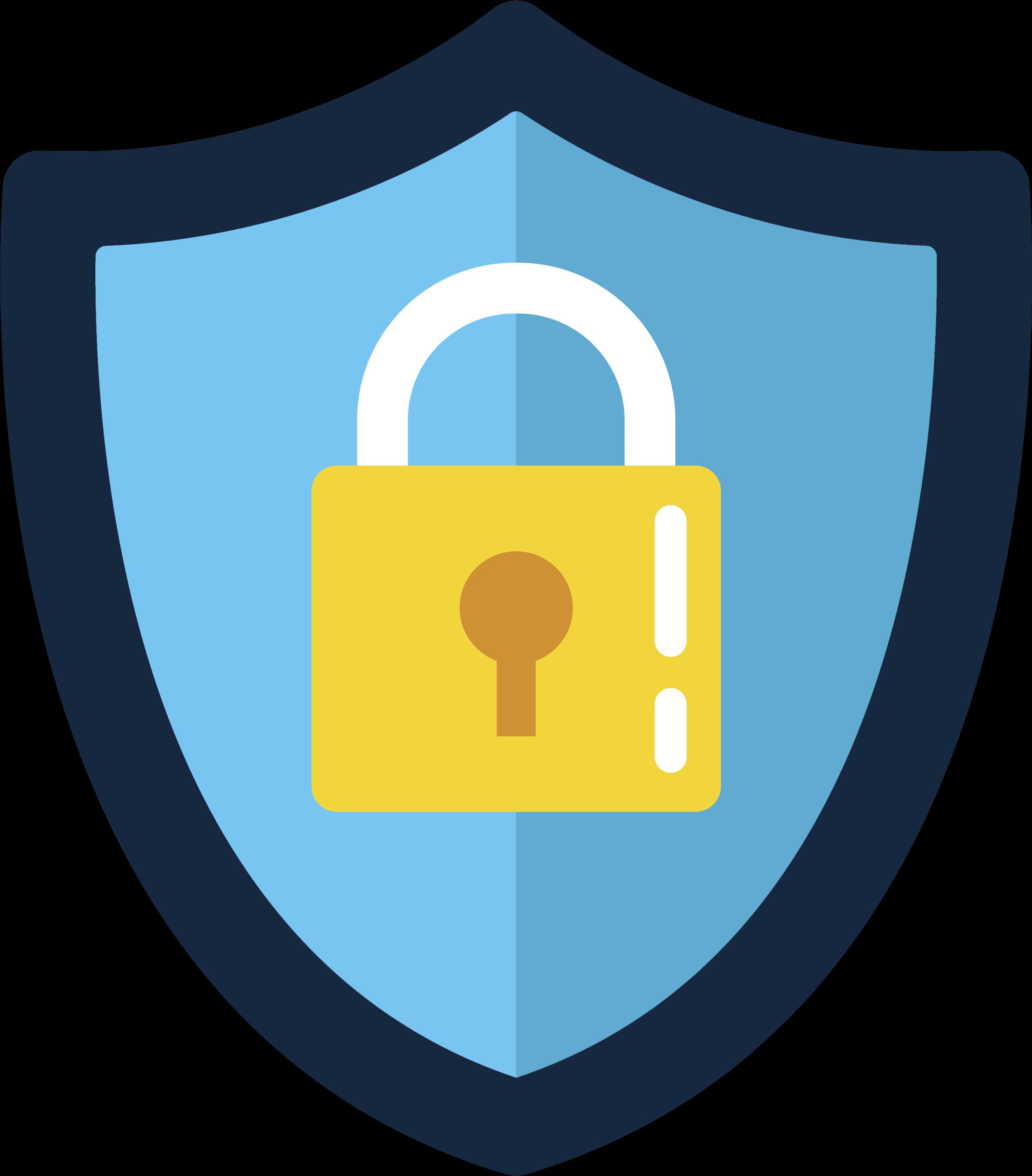 Data Security Icon - Emblem , Transparent Cartoon - Jing.fm
