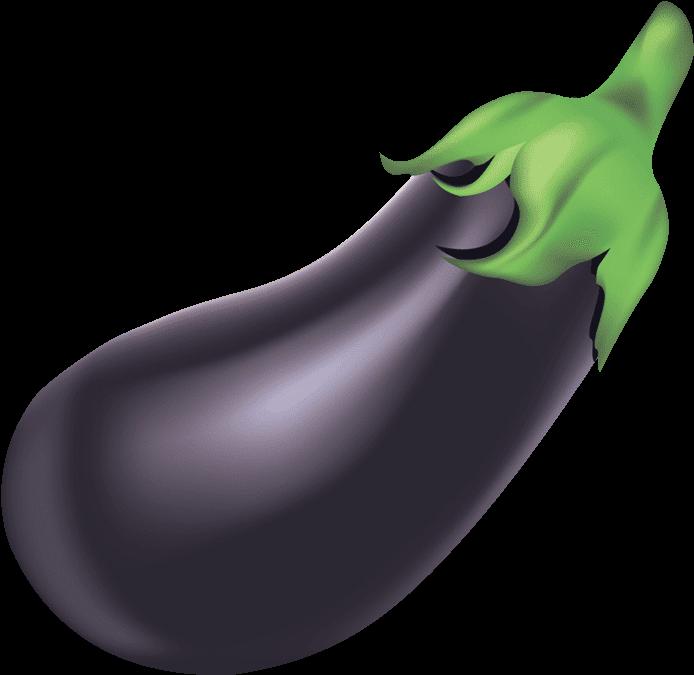 Transparent brinjal clipart - Eggplant Clipart - Eggplant