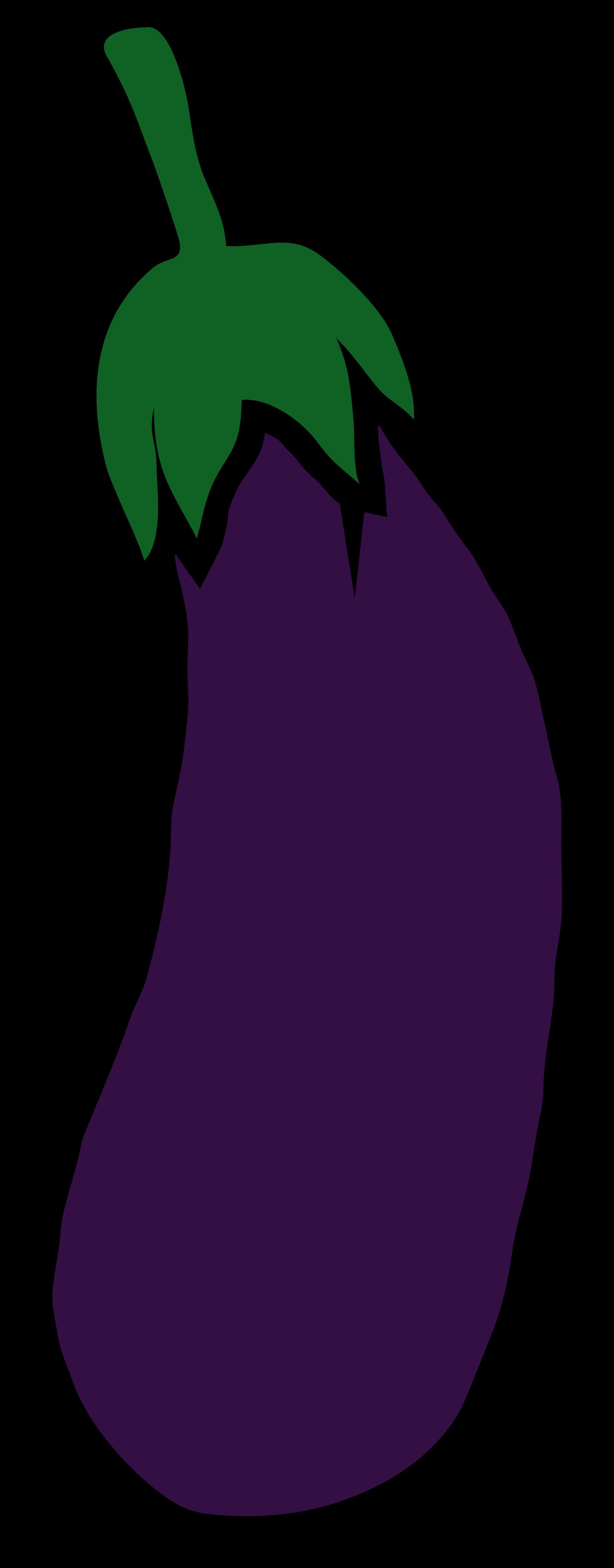 Transparent brinjal clipart - File Aubergine Wikimedia Commons - Eggplant