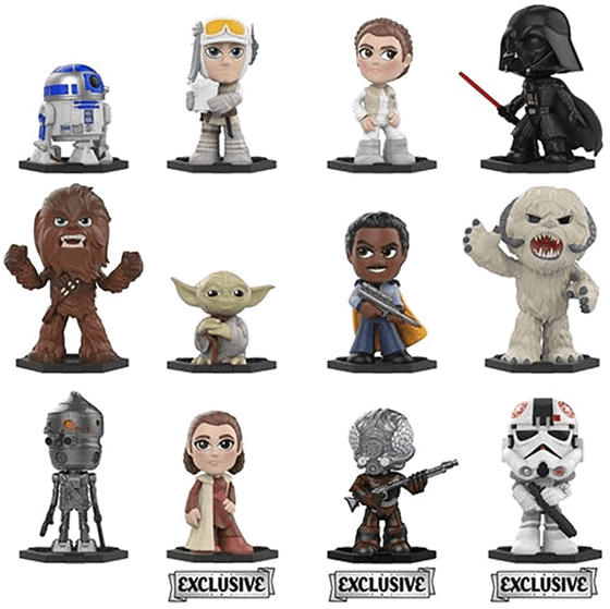 Transparent princess leia clipart - Gs Exclusive Mystery Mini Blind Box - Mystery Minis Star Wars The Empire Strikes Back