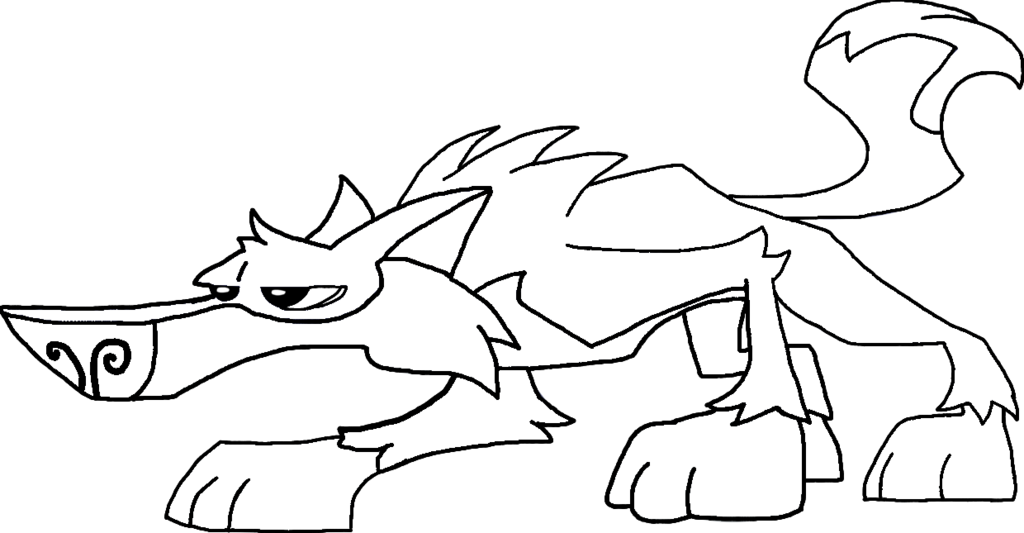Wolf Animal Jam Coloring Pages - Get coloring Books
