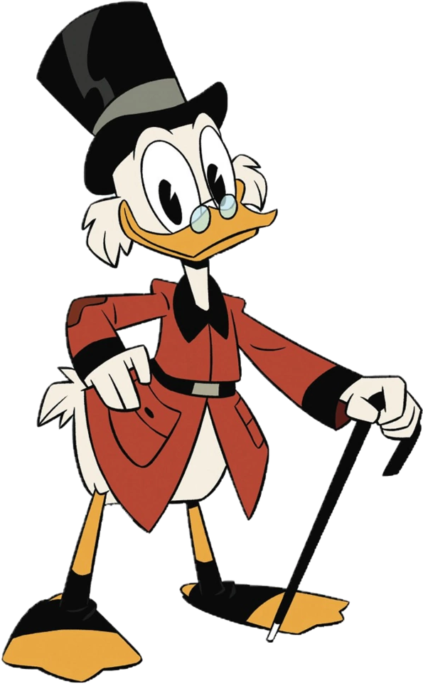 Transparent kermit the frog clipart - The Milantooner On Twitter - Scrooge Mcduck Ducktales 2017