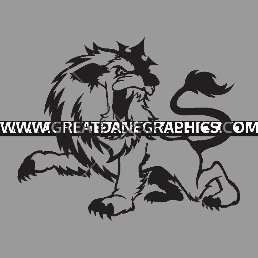 Roaring Lion Cartoon Mascot Illustration Transparent Cartoon Jing Fm