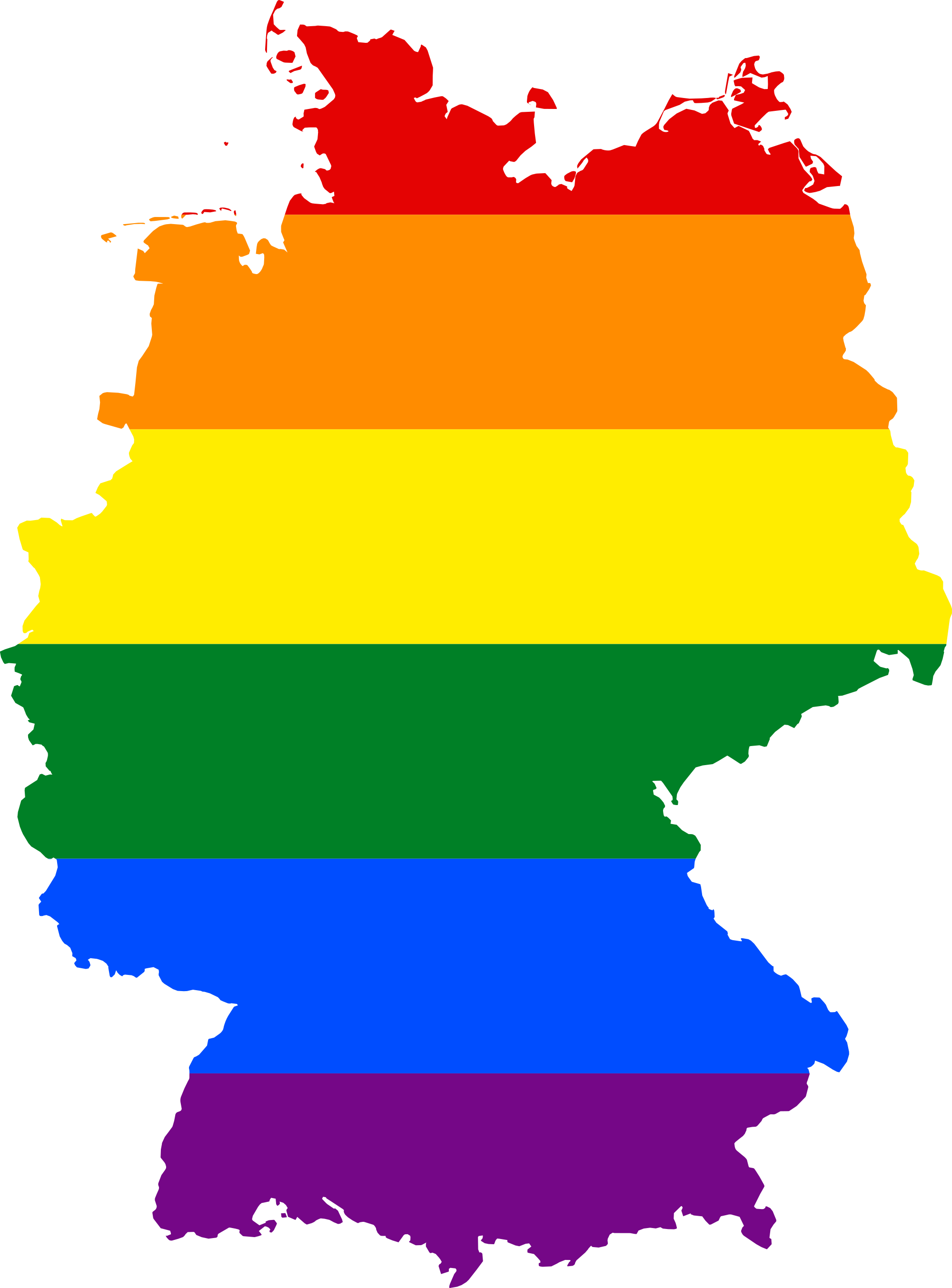 Transparent same clipart - Merkel's Decision To Allow Same Sex Marriage Is A Calculated - Germany Lgbt Flag