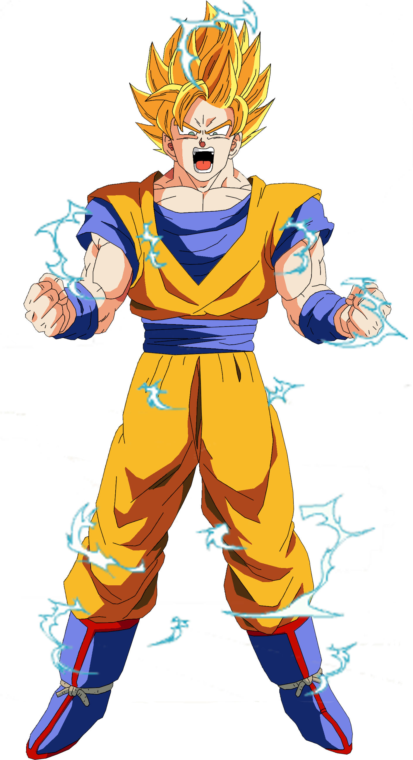 Goku Super Saiyan Live Dbz Goku Super Saiyan 2