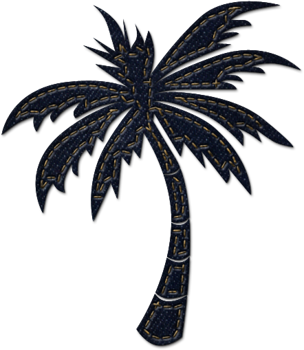 Transparent palm trees clipart - Palm Tree Clipart White Background - Palm Trees