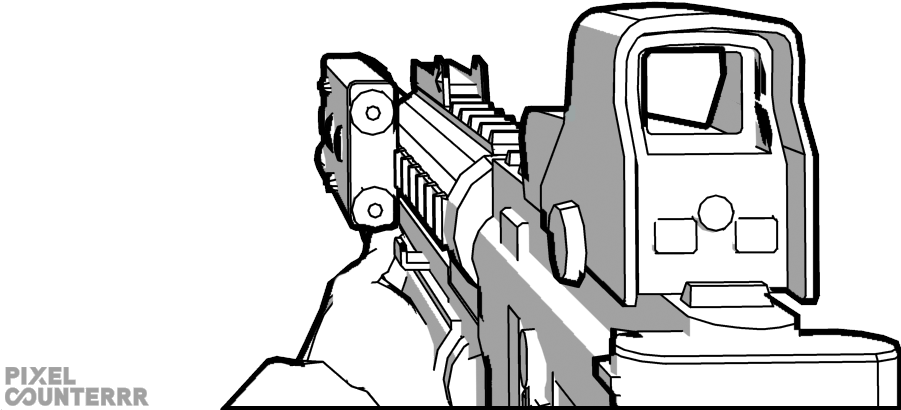 First Drawing Call Duty For Free Download First Person Gun Drawing Transparent Cartoon Jing Fm