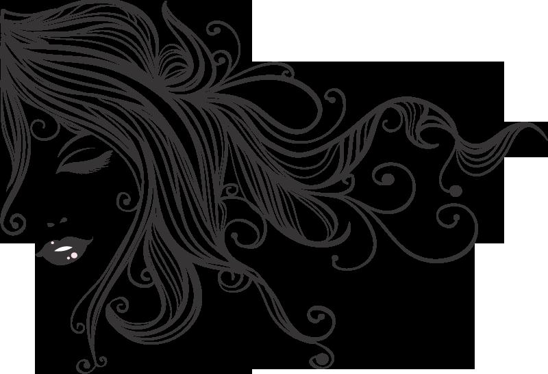 Cosmetology Drawing Hair Stylist Girl Vector Design Transparent Cartoon Jing Fm