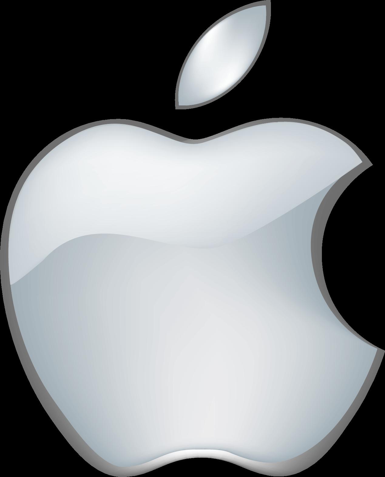 Transparent apple logo clipart - Apple Logo [apple Computer] - Apple Logo 3d Png