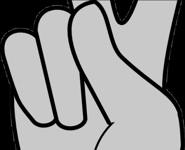 Transparent middle finger clipart - Fingers Clipart Middle - Clip Art Peace Sign Hand