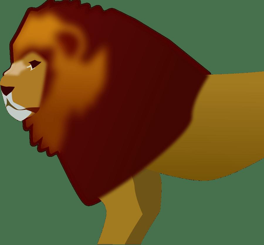 Transparent lion face clipart black and white - Digital Lion Art Svg Clip Arts 600 X 566 Px - Lion Clip Art