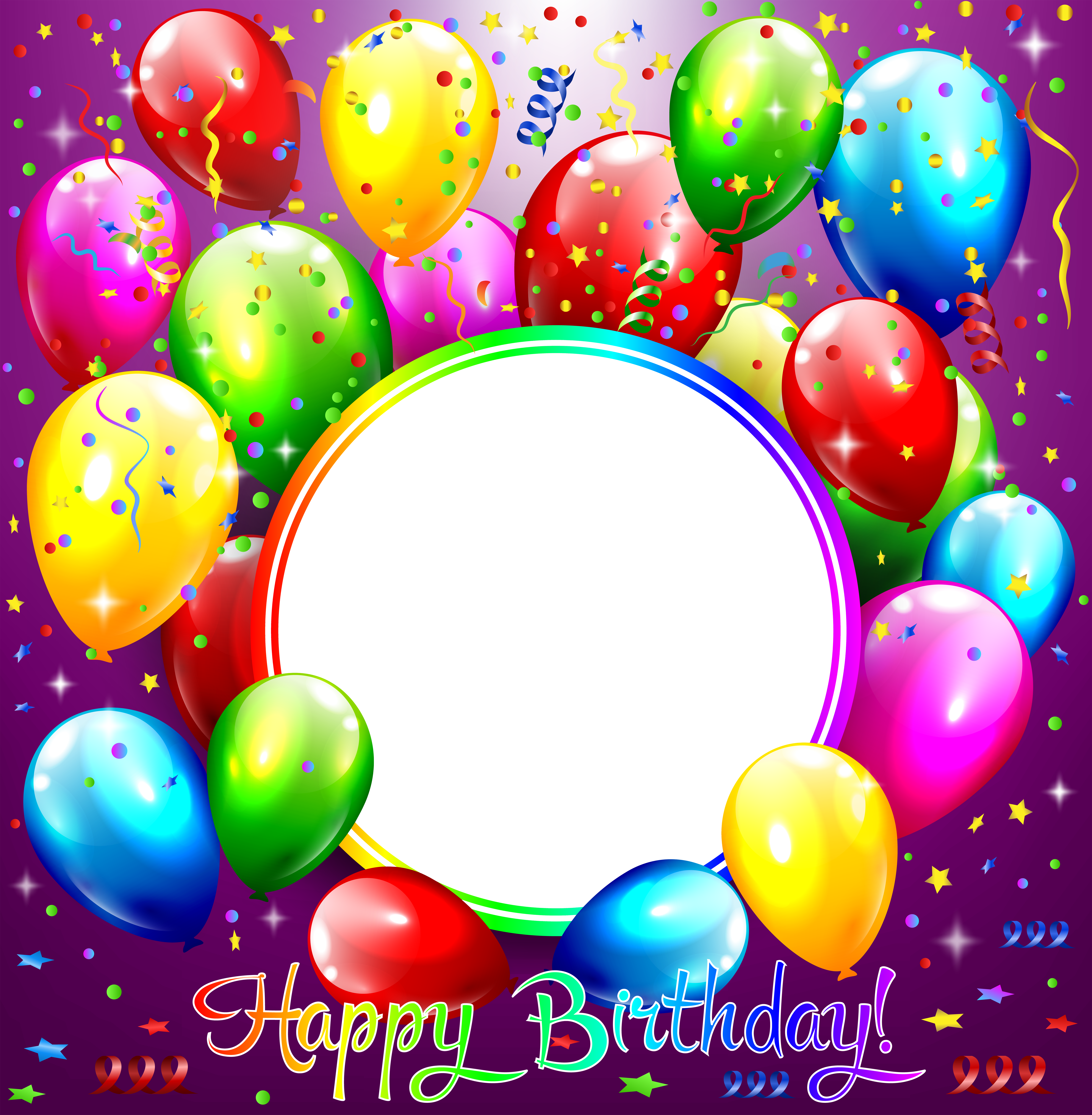Happy Birthday Frame Happy Birthday Photos Birthday Transparent Background Happy Birthday Frames Png Transparent Cartoon Jing Fm