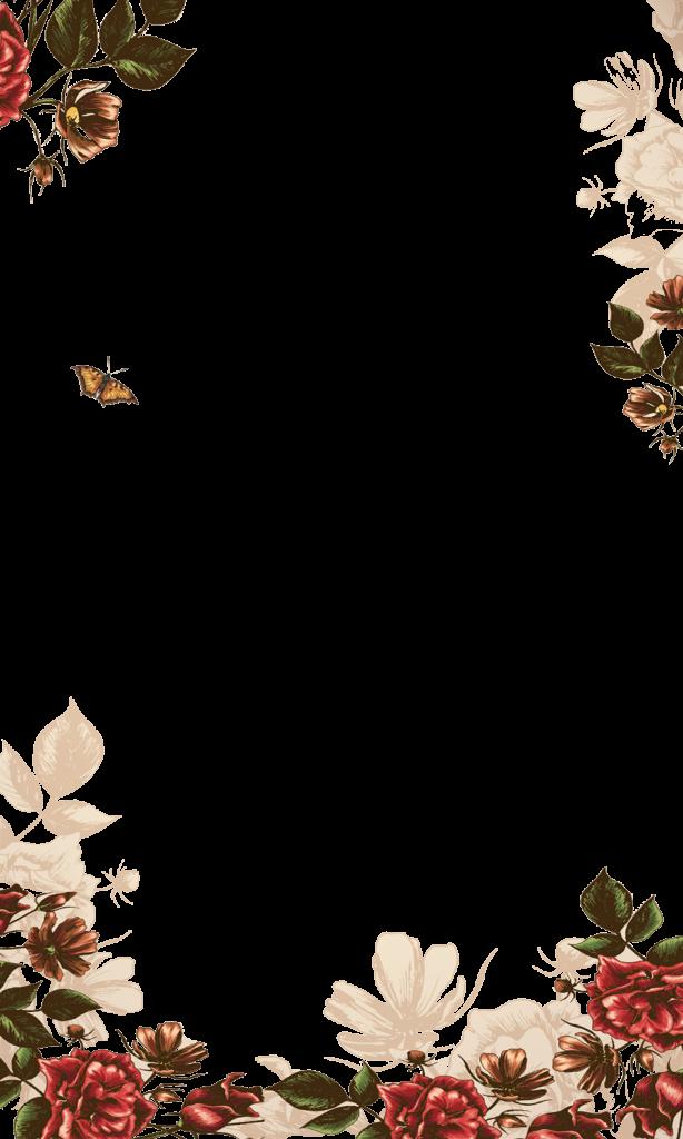 Watercolor Flower Crown Png Watercolor Border Design Png