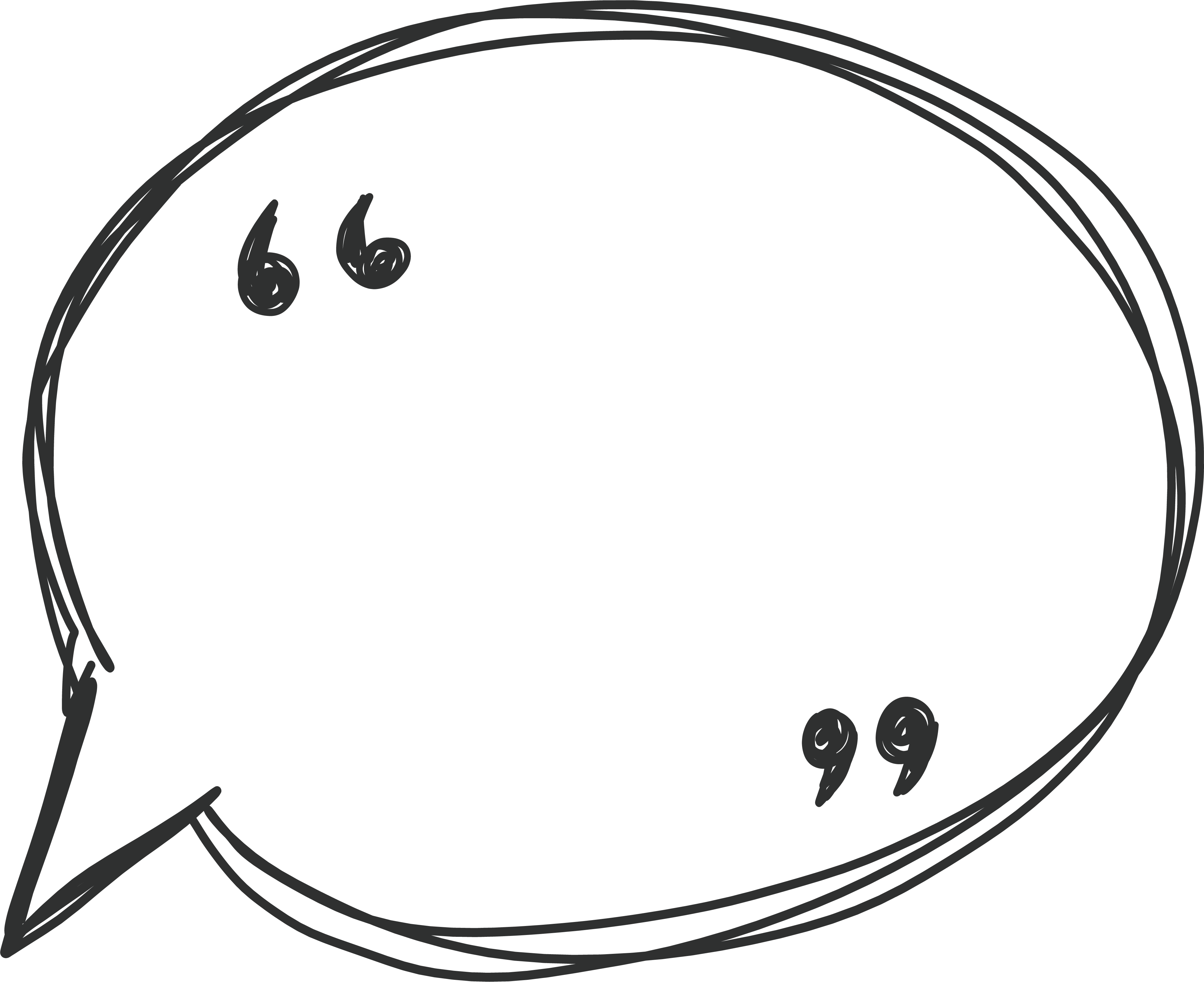 Transparent talking bubble clipart - Speech Bubble Png - Speech Bubble Vector Png