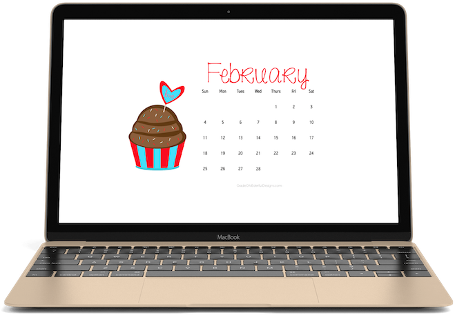 Transparent february calendar clipart - February 2018 Free Calendars For Your Desktop Or Phone - Personal Graphic Designer Website