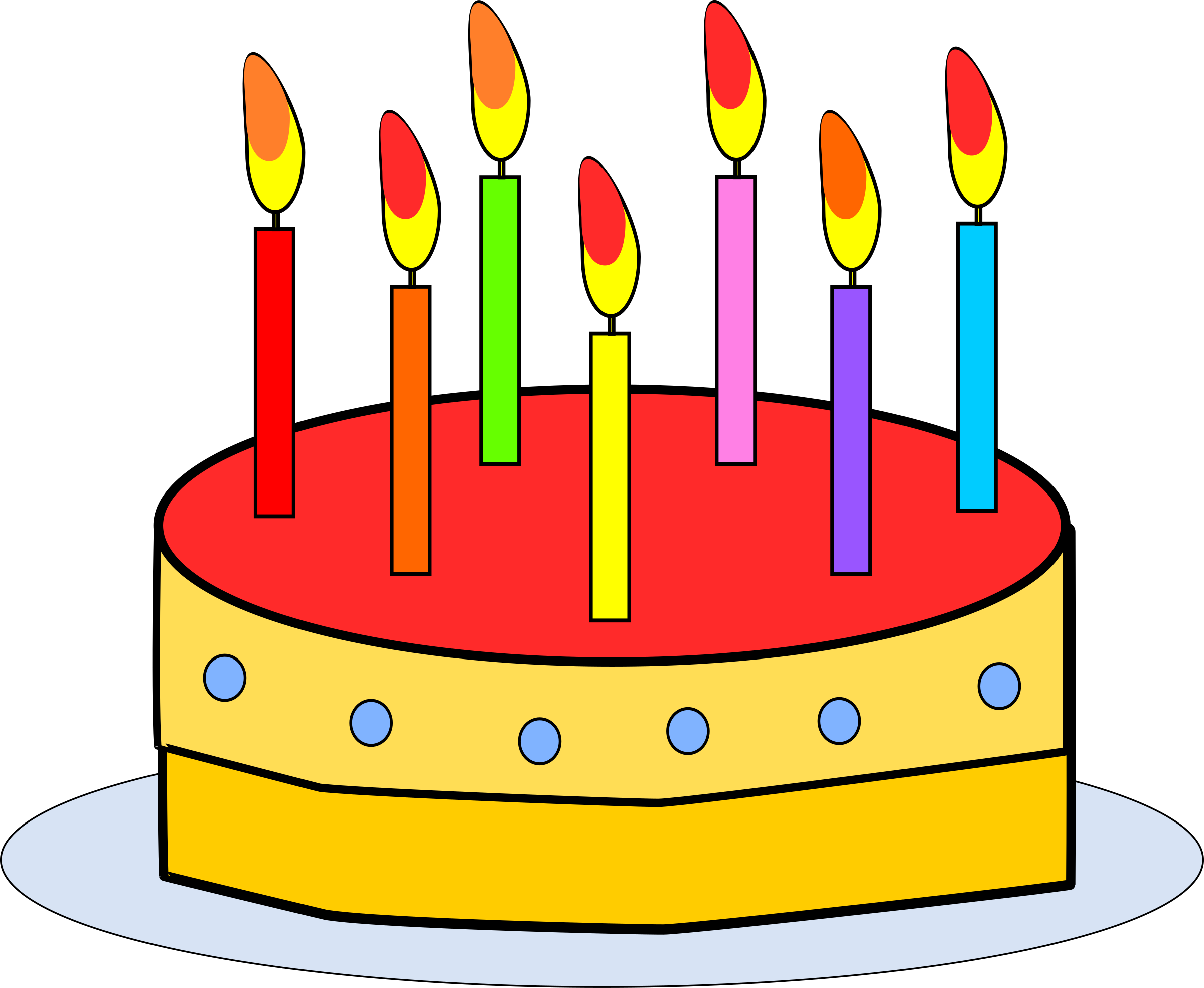 Cake cartoon. Clipart of cakes by