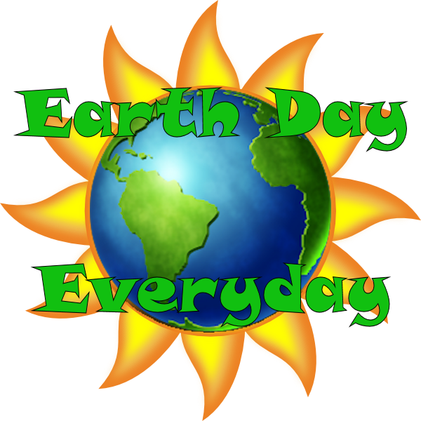 Transparent earth day clipart - Earth Day Every Day - Sun Clipart