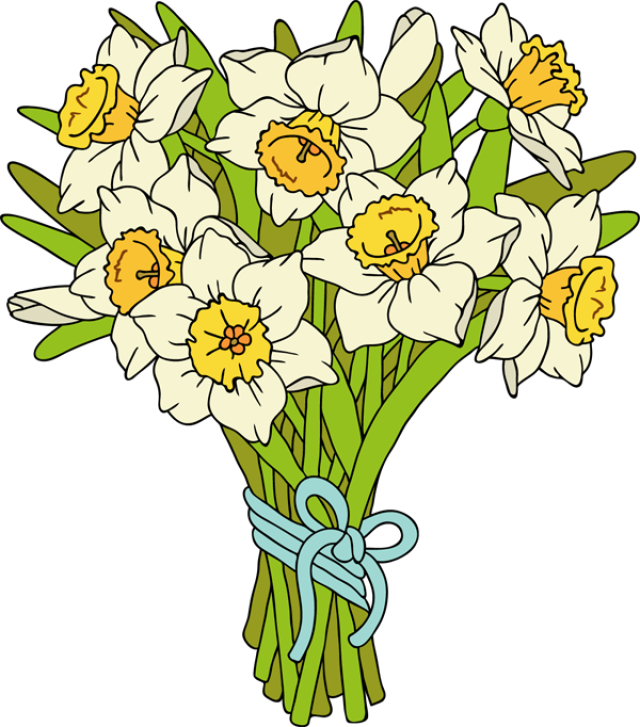 Transparent earth day clipart - Earth Day Clipart Beautiful - Bunch Of Daffodils Clipart