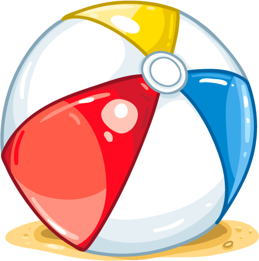 Transparent beach ball clip art - Clipart Beach Ball