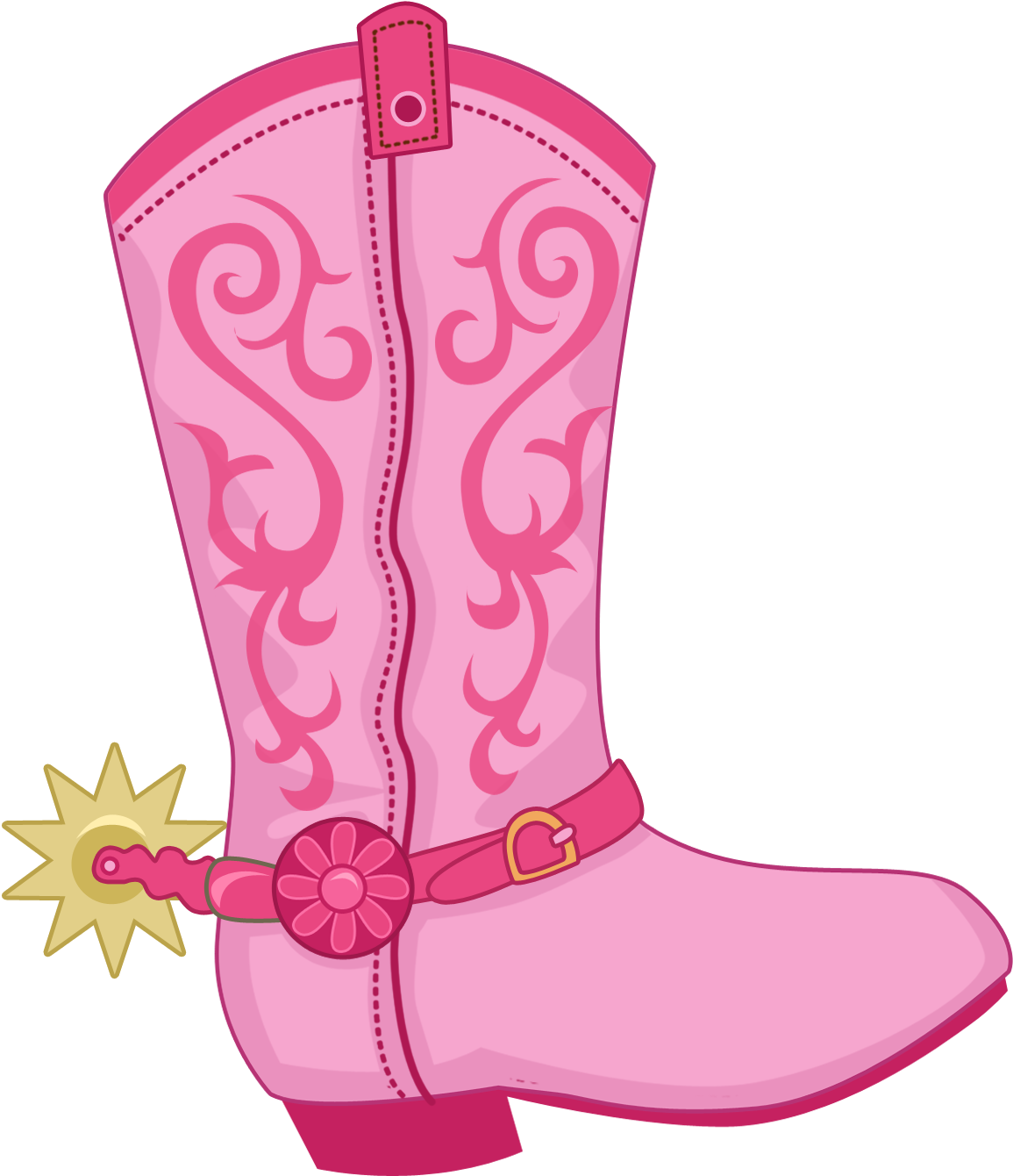 Boot Hat N Clip Baby Blue Cowboy Boots Clipart Transparent Cartoon Jing Fm