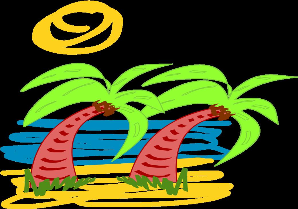 Transparent palme clipart - Computer Icons Palm Trees Plants Leaf - Clip Art