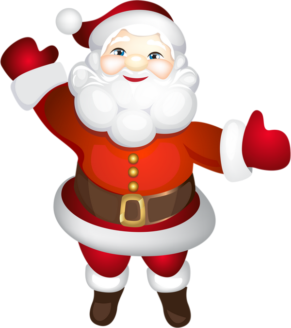 Pere Noel Png Tube Clipart Weihnachtsmann Santa Santa Claus Transparent Cartoon Jing Fm