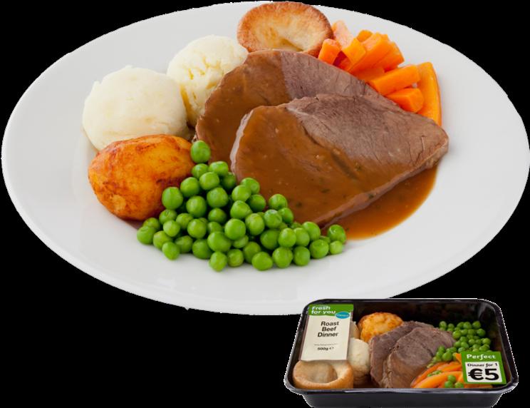Transparent roast chicken clipart - Irish Roast Chicken Dinner , Png Download - Roast Dinner Png