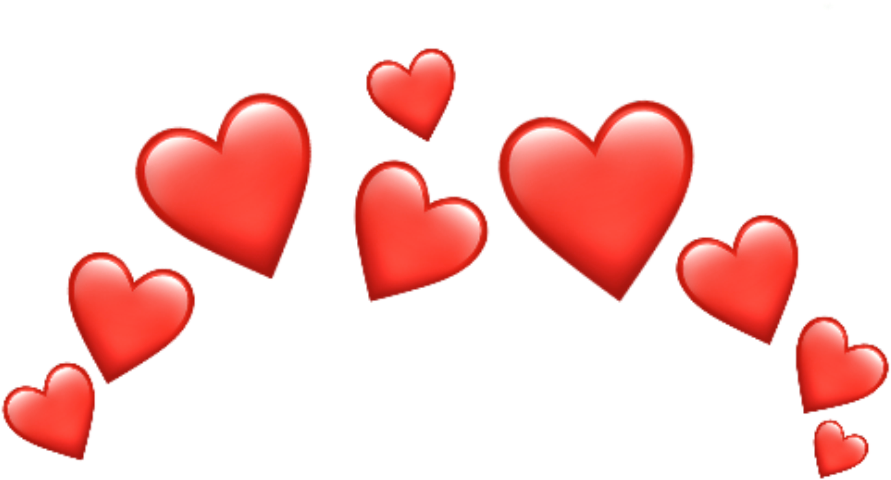 Transparent clipart kwiaty - Whatsapp Heart Emoji Png