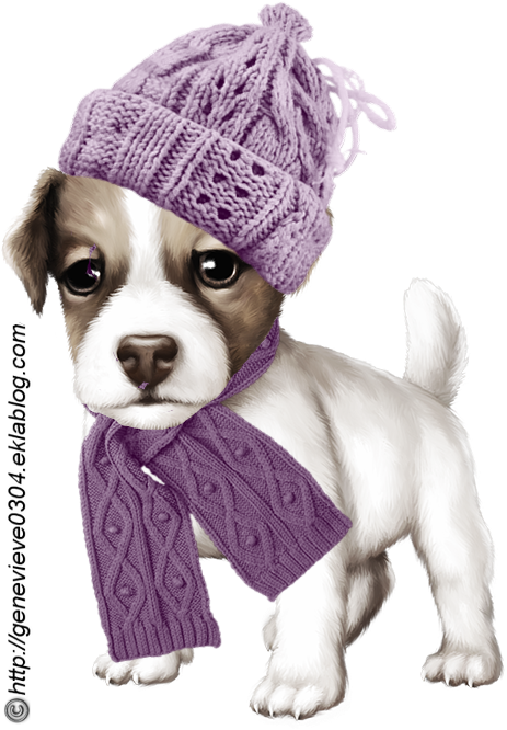Transparent christmas dog clipart - Click For A Larger View Cute Clipart, Dog Crafts, Christmas - Toy Dog