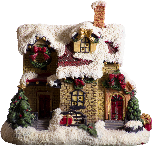 Transparent christmas house clipart - Christmas House Png - Gingerbread House