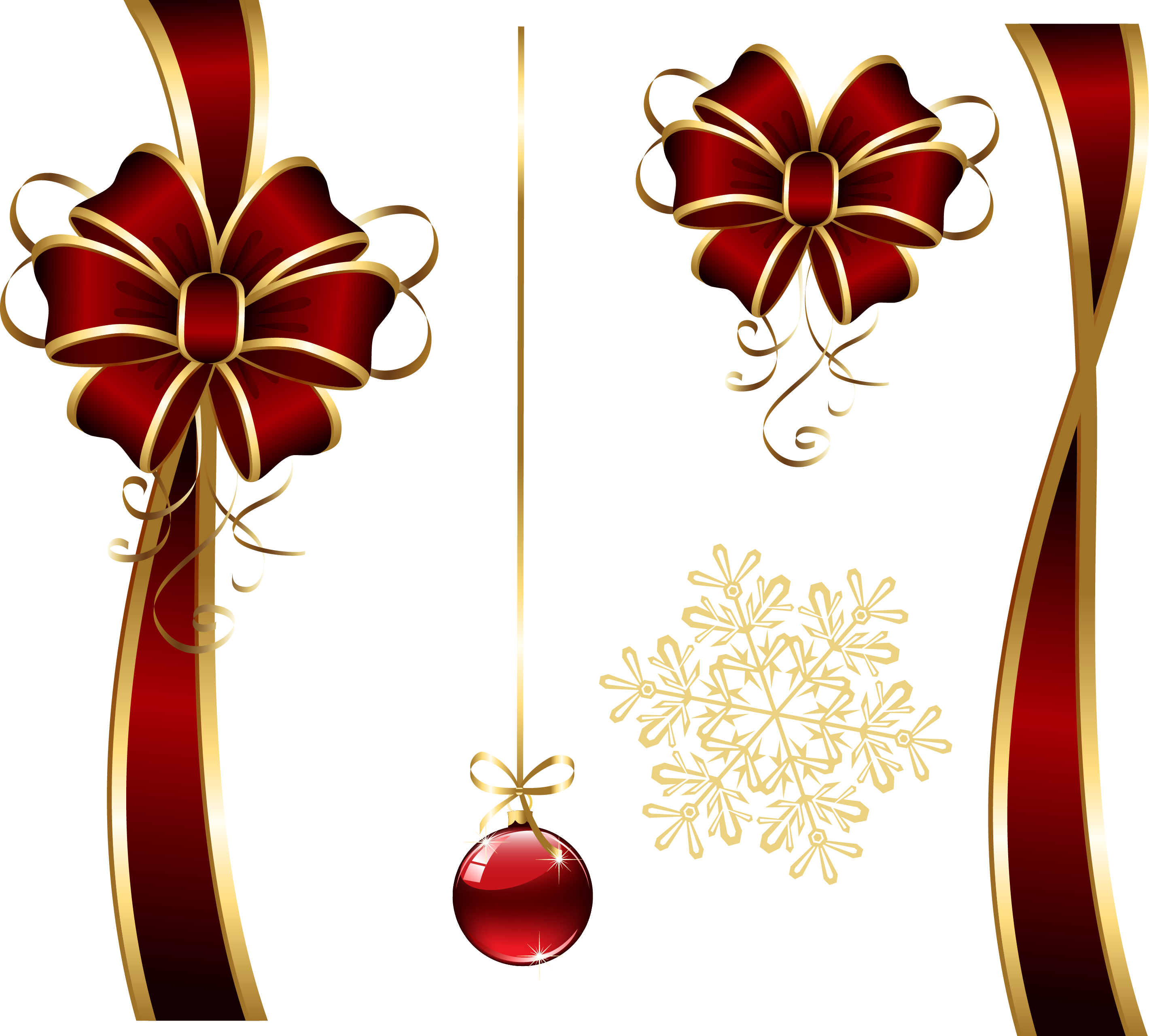 Transparent christmas candle clipart - Decoratives Png Picture Gallery Yopriceville High View - Christmas Decorative Item Png