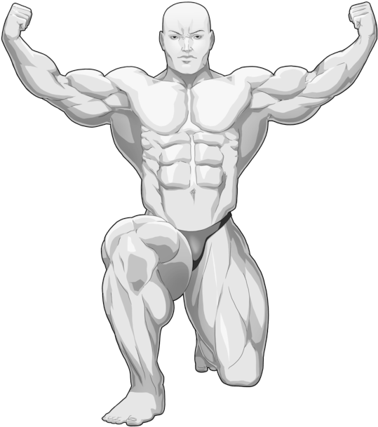 Bodybuilding Clipart Gym Body Drawing Transparent Cartoon Jing Fm