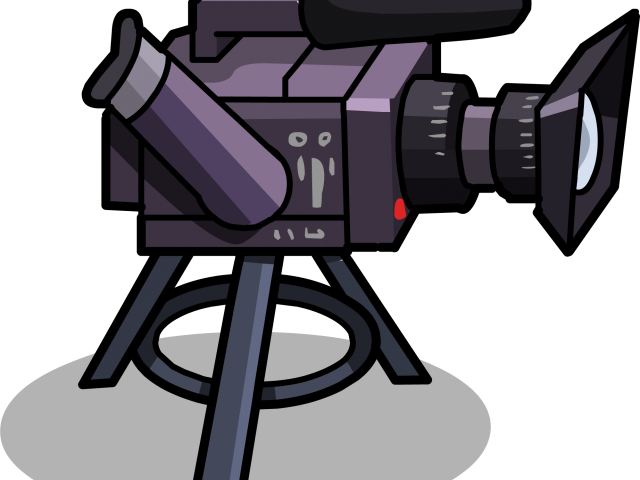Transparent film camera clipart - Video Camera Clipart Film Club - Video Camera Animation Png