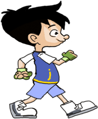 Gambar Animasi Anak Muslim Jogging R01 Copy 850x500 Gambar Animasi Anak Kecil Transparent Cartoon Jing Fm