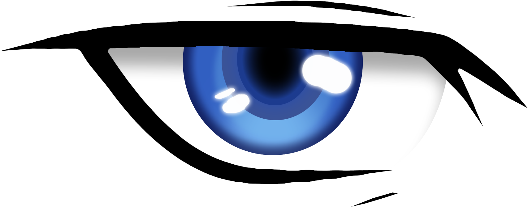 Anime Eye Png Animated Blinking Eye Png Transparent Cartoon