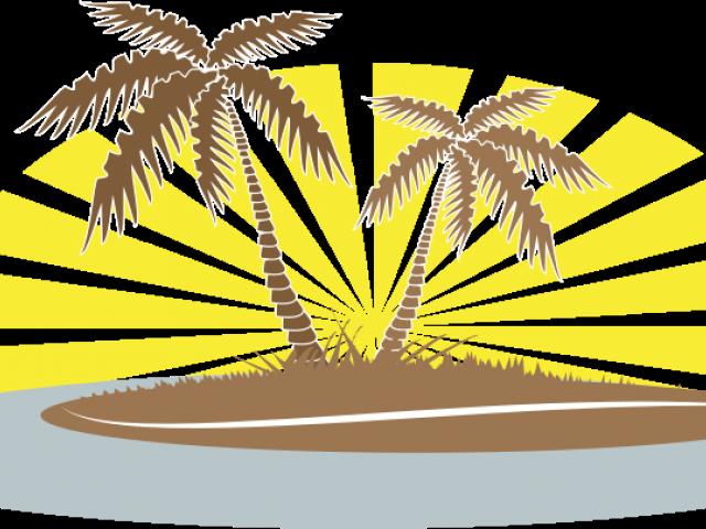 Transparent palm clipart - Date Palm Clipart Summer - Palm Trees