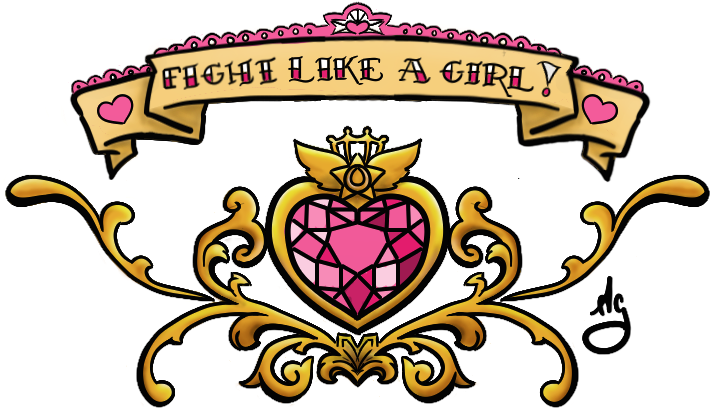 Transparent fight like a girl clipart - Fight Like A Girl Lower Back - Fight Like A Girl Sailor