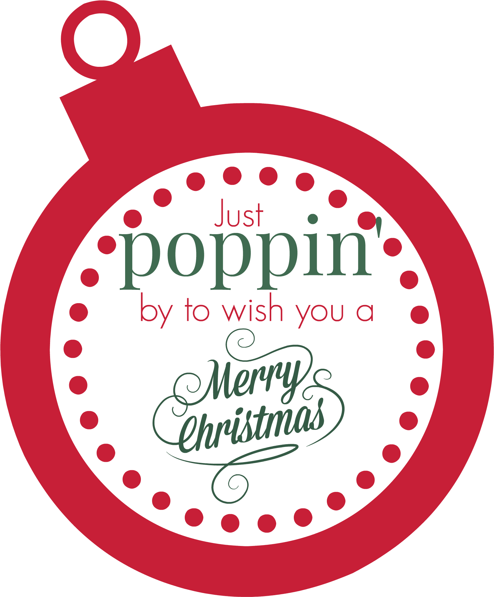 Transparent christmas gift tag clipart free - Make These Popcorn Christmas Gifts In Bulk This Year - Printable Christmas Popcorn Labels