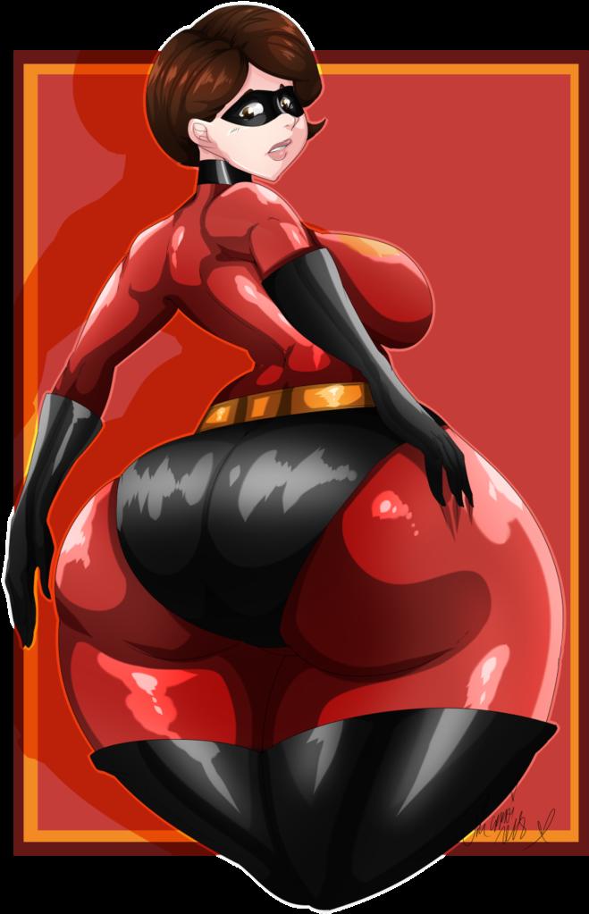 Cartoon Sexy Butt