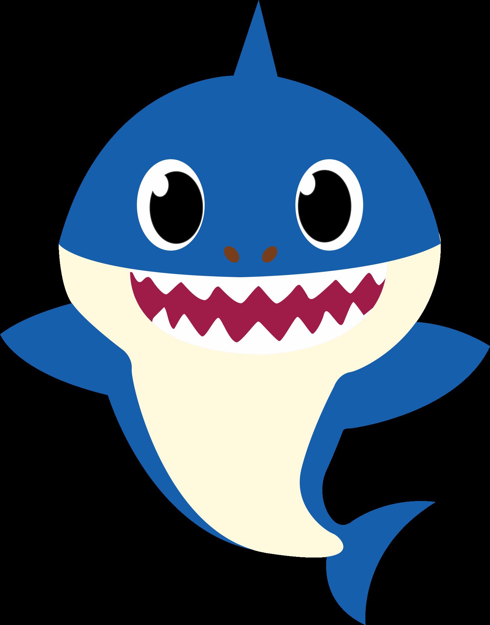 Family Shark Svg, Baby Shark Svg , Mommy , Daddy , - Blue ...