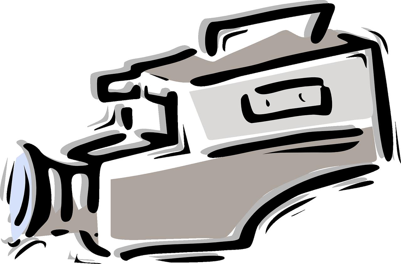 Transparent video camera clip art - Film Tape Png - Video Camera Clip Art
