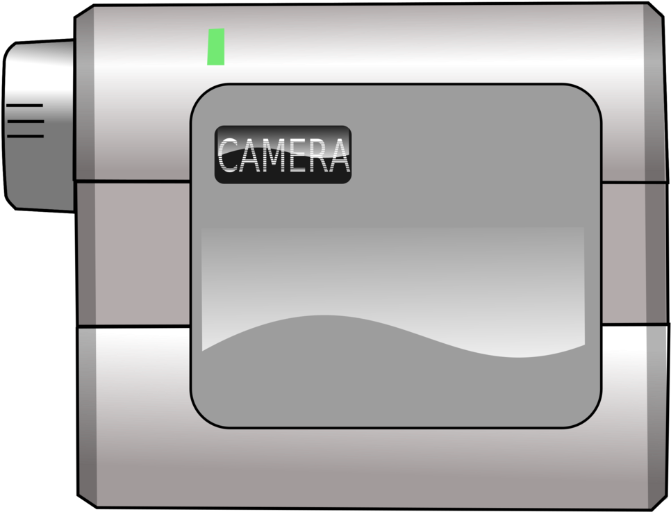 Transparent video camera clip art - Camera Clipart Png - Lecteur Video Minidv