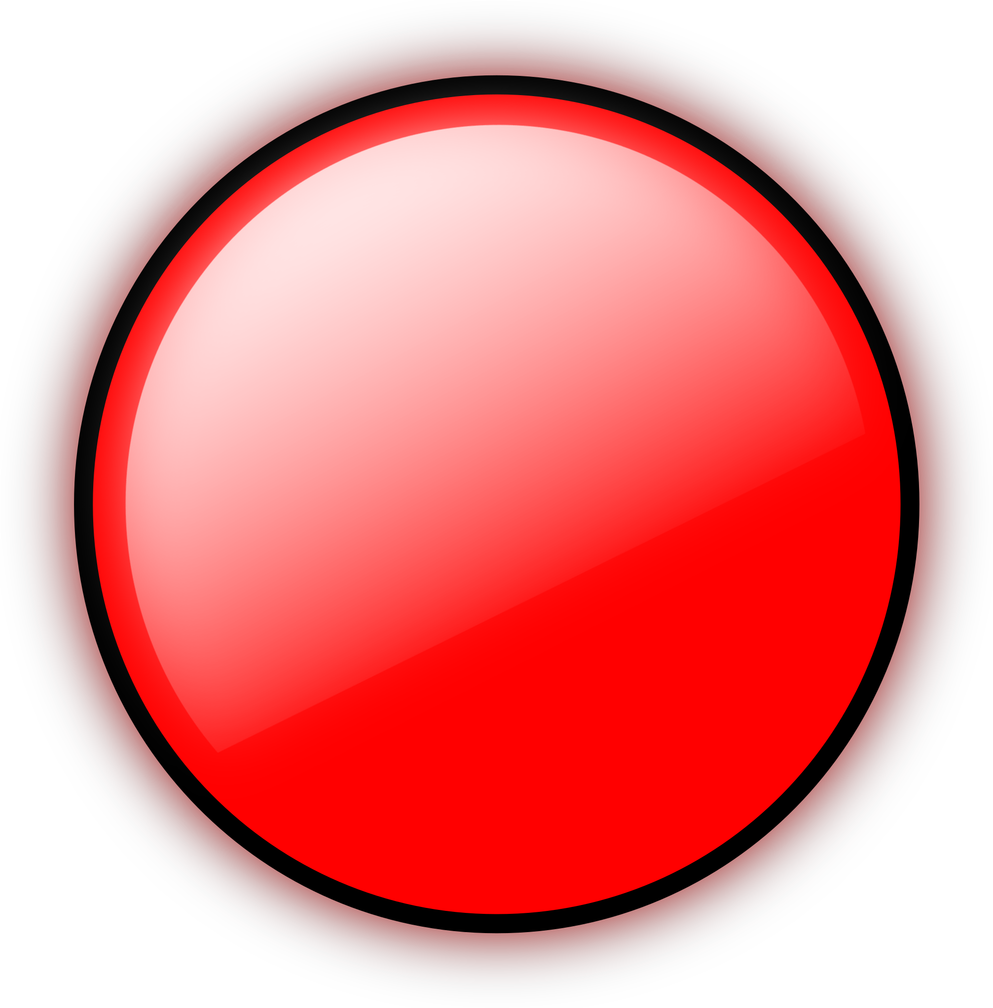 Transparent circle time clipart - Clipart - Red Circle