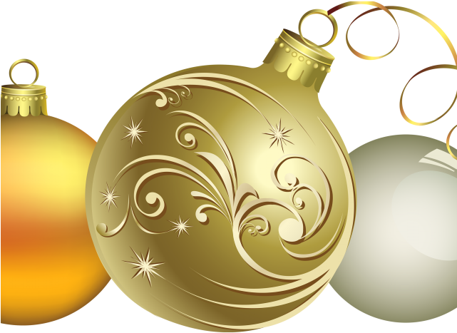 Gold Christmas Ornaments Png.Christmas Ornaments Clipart Chrismas Christmas Decorations