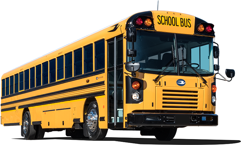 Transparent christmas school bus clipart - View Our Buses, Specifically Designed For School Bus - 2019 Blue Bird School Bus