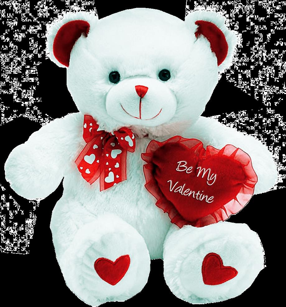 Transparent valentines day teddy bear clipart - Valentine Teddy Bear Transparent Background Png Image - Cute Love Teddy Bear